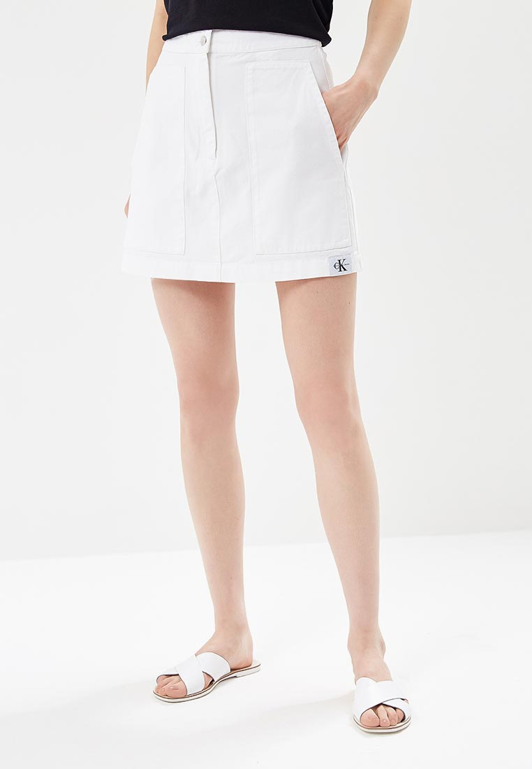 Джинсовая юбка Calvin Klein Jeans J20J207003