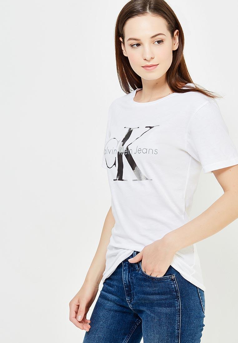 Футболка с коротким рукавом Calvin Klein Jeans J20J205356
