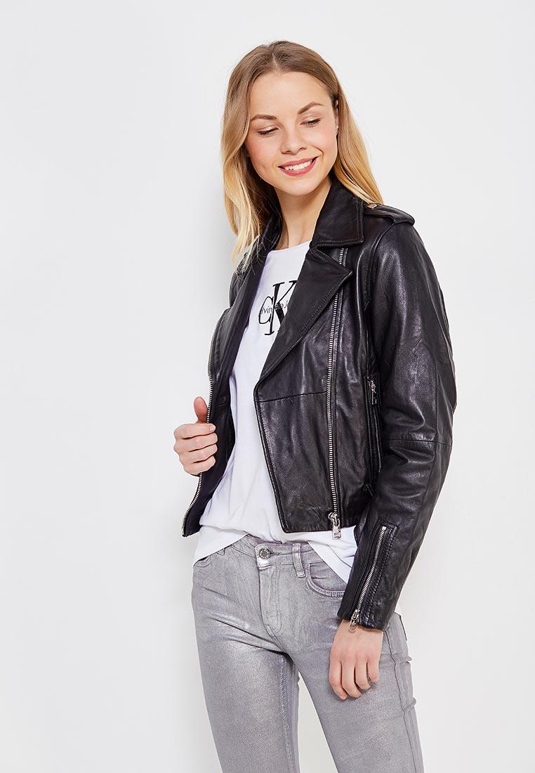 Кожаная куртка Calvin Klein Jeans J20J206456