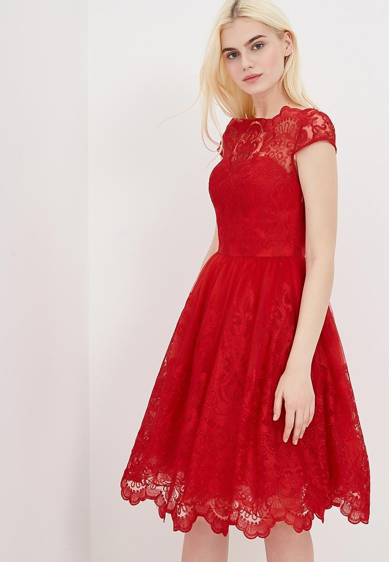 Платье-миди Chi Chi London 41735KRE