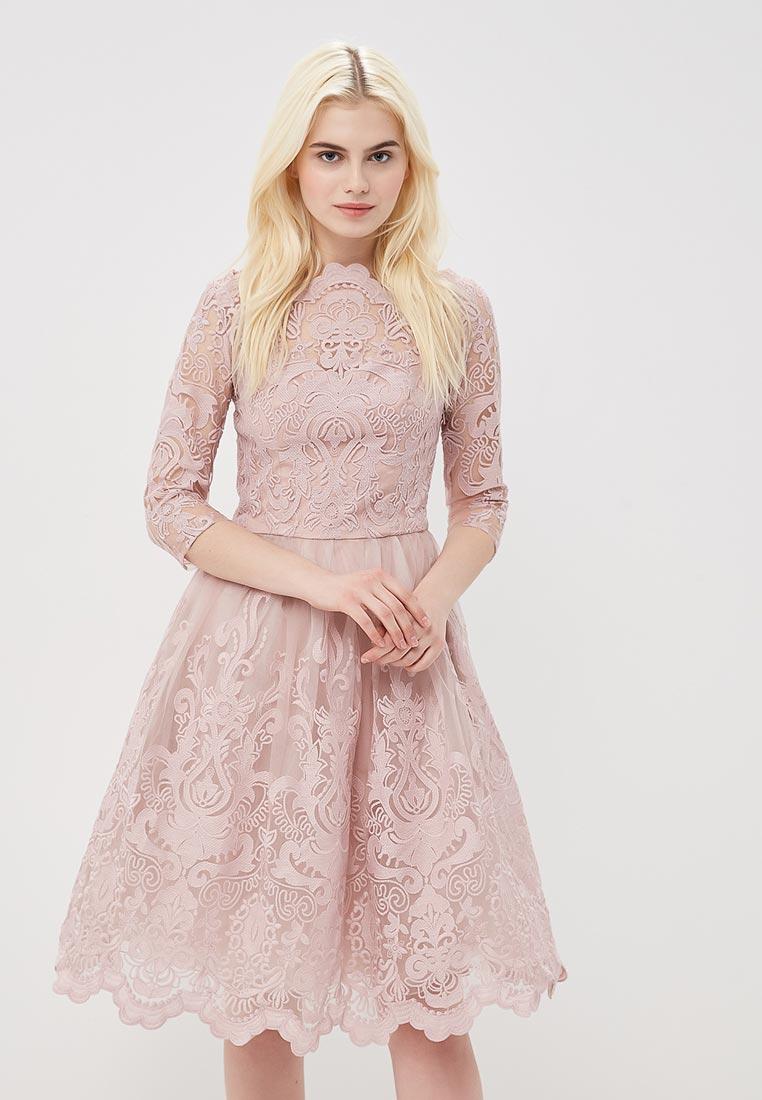 Платье-миди Chi Chi London 41735LMI