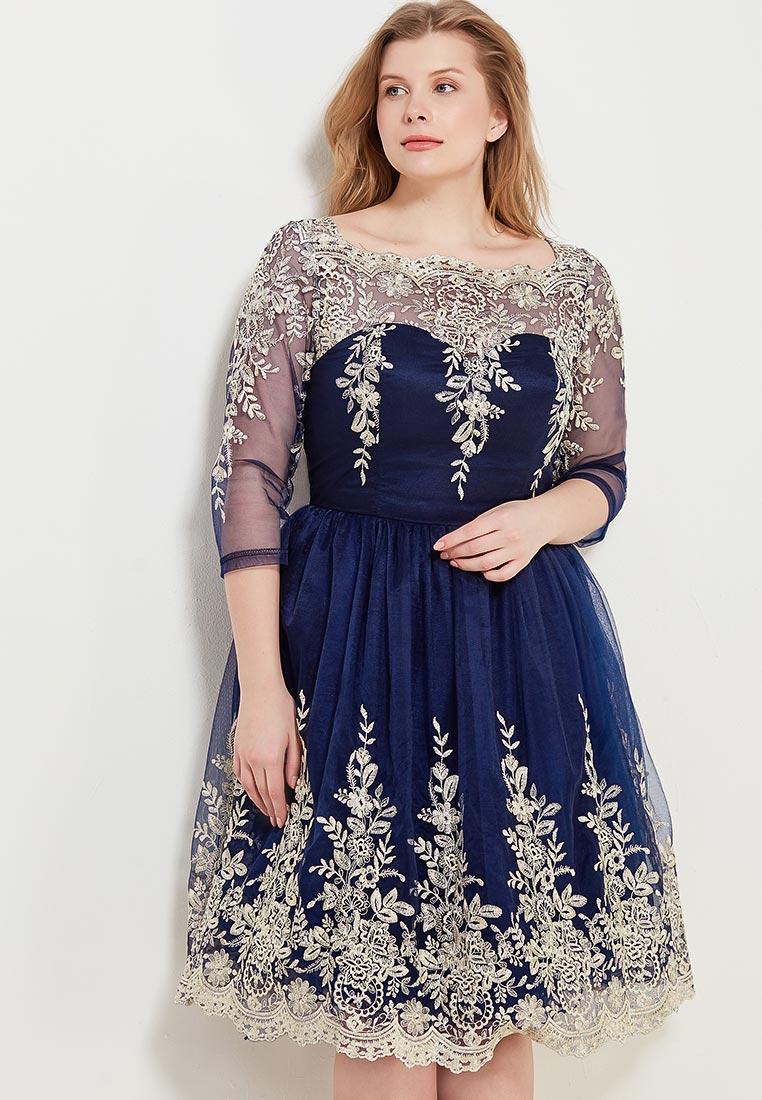 Вечернее / коктейльное платье Chi Chi London 42607BLGL