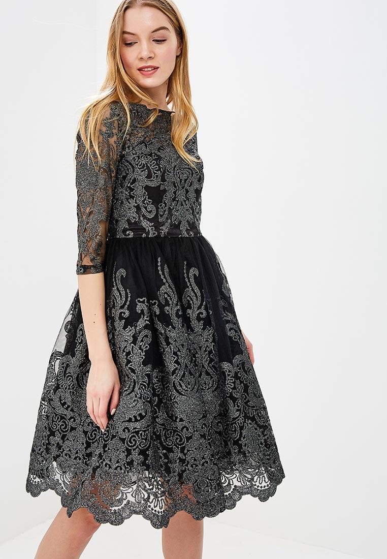 Платье-миди Chi Chi London 4735BLK