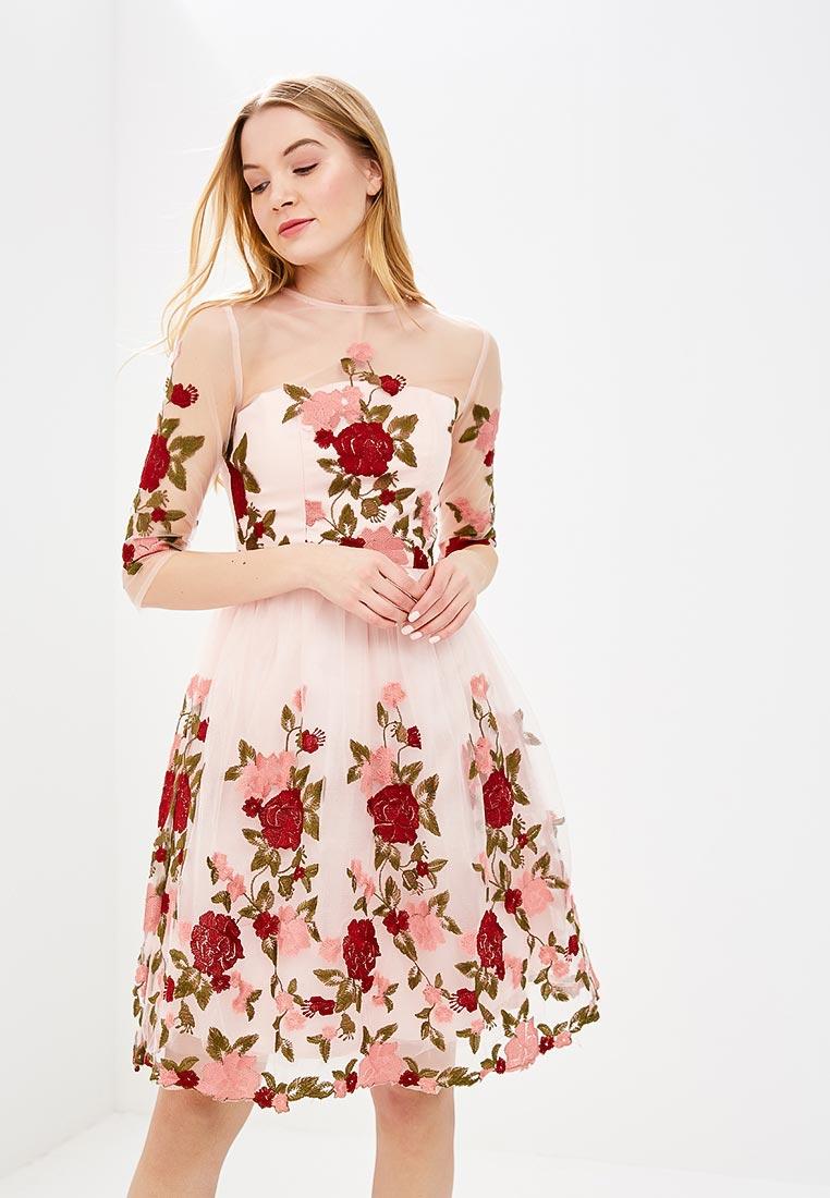 Платье-миди Chi Chi London 70115PI