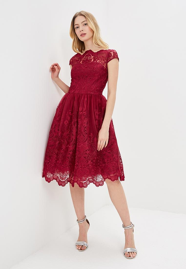 Вечернее / коктейльное платье Chi Chi London 41735BER