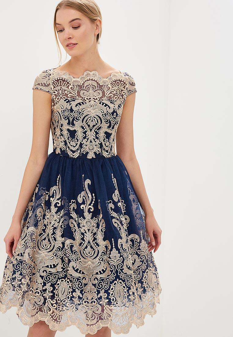 Вечернее / коктейльное платье Chi Chi London 41735BLRG