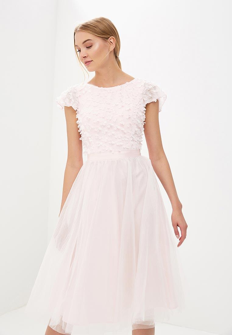Платье-миди Chi Chi London 52229PI