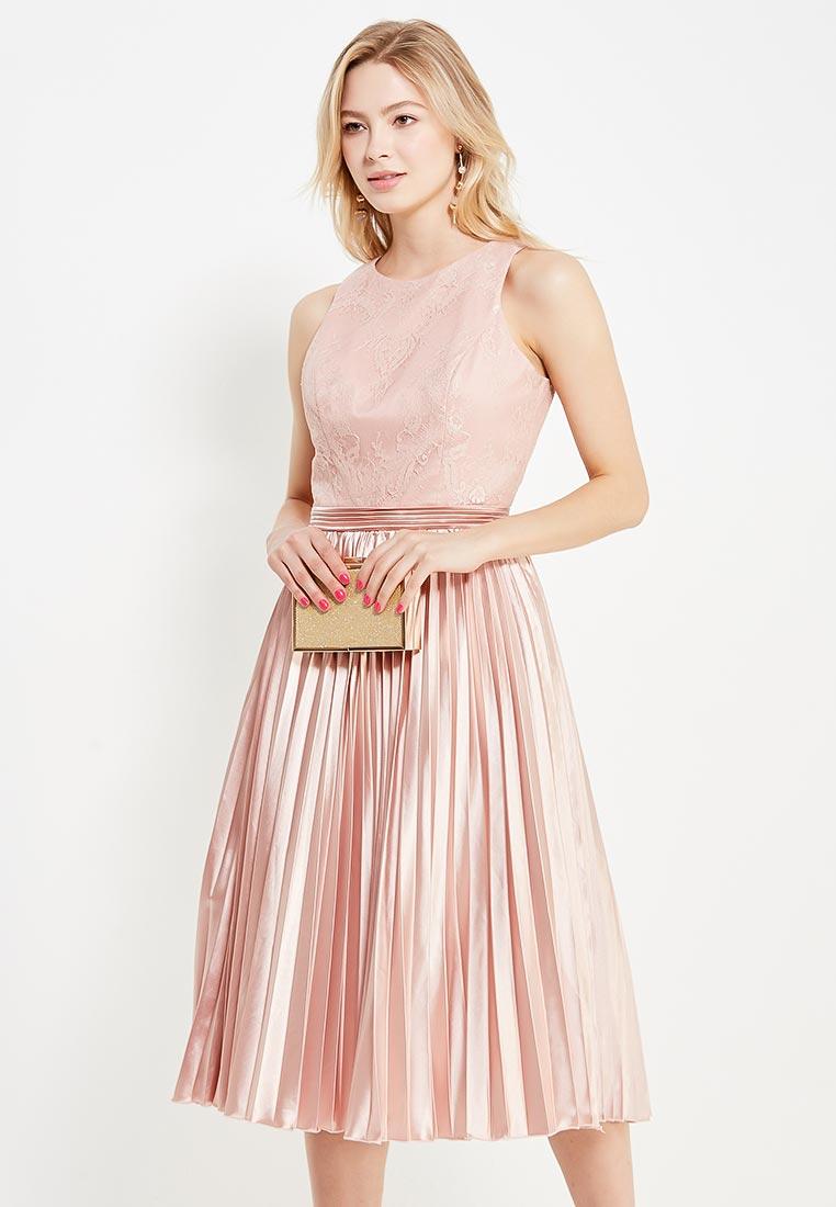 Платье-миди Chi Chi London 6106PI