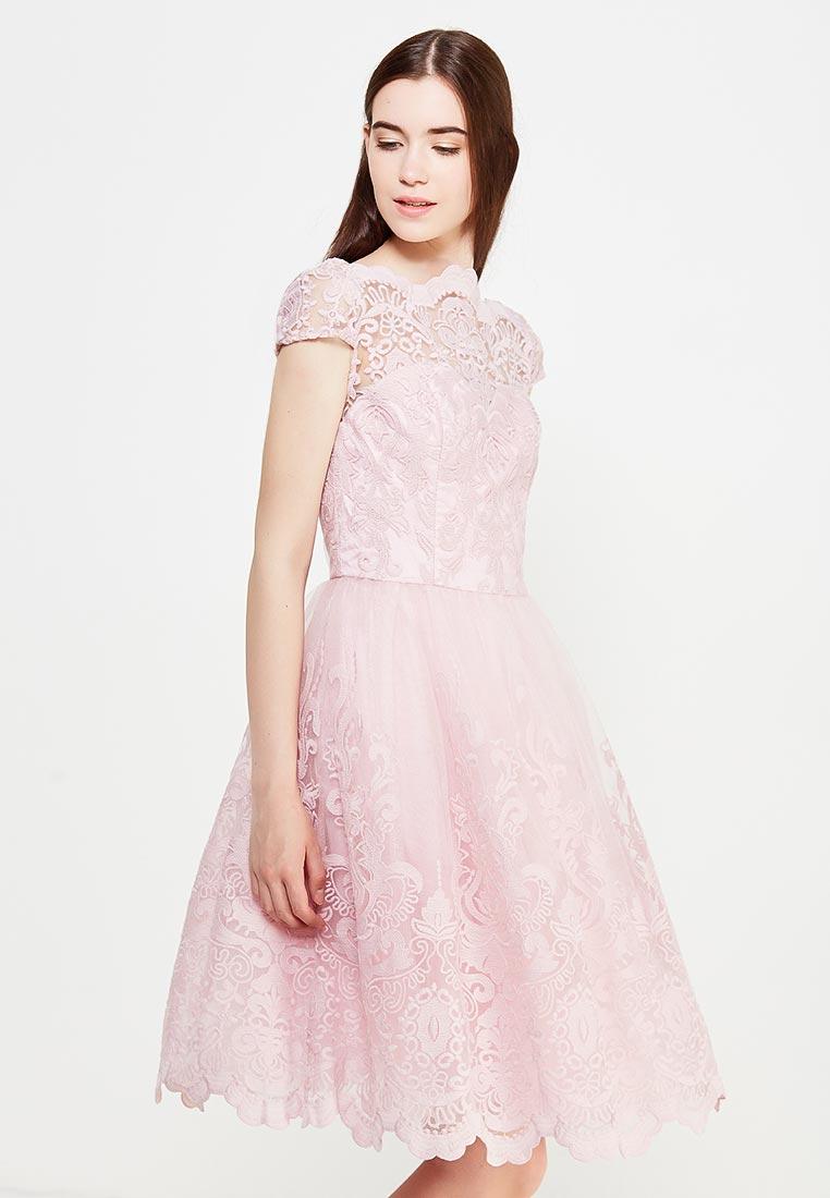 Платье-миди Chi Chi London 41735FTPI