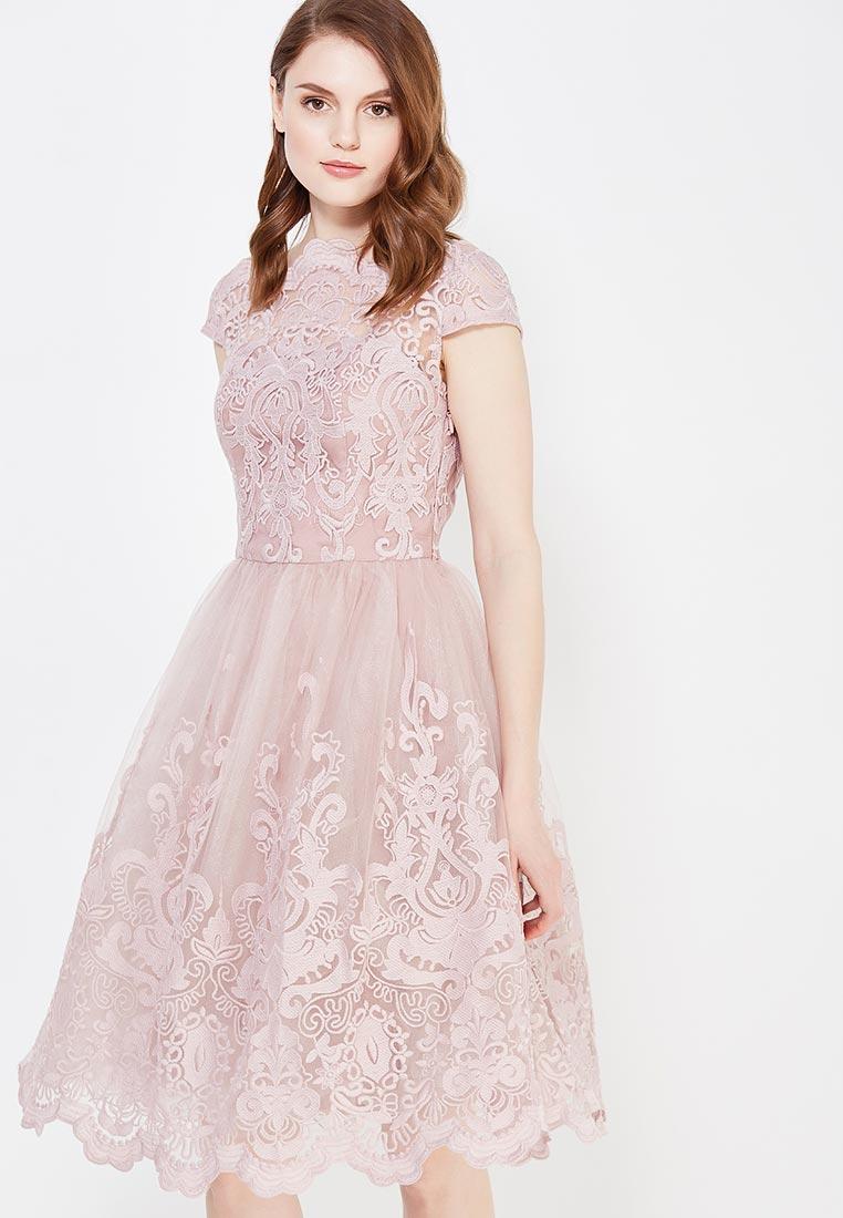 Платье-миди Chi Chi London 41735MI
