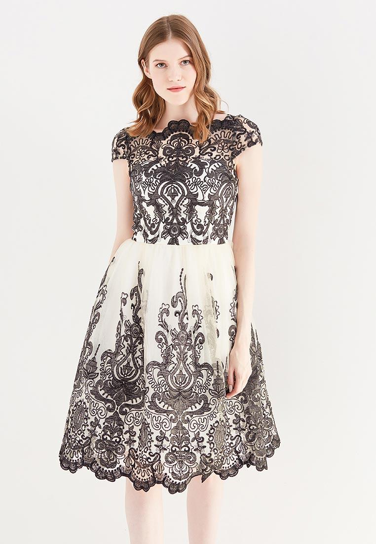 Вечернее / коктейльное платье Chi Chi London 41735CRBLK
