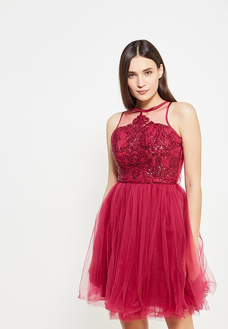 Вечернее / коктейльное платье Chi Chi London 7974BUR
