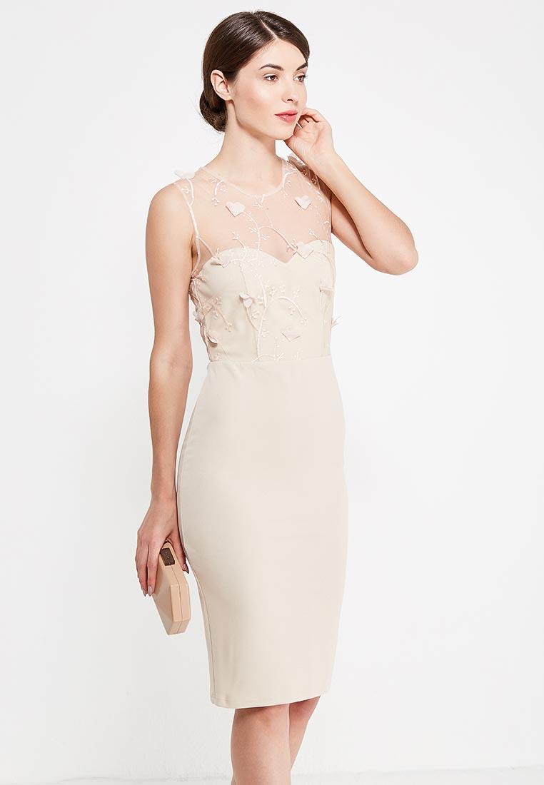 Платье-миди City Goddess DR1037A