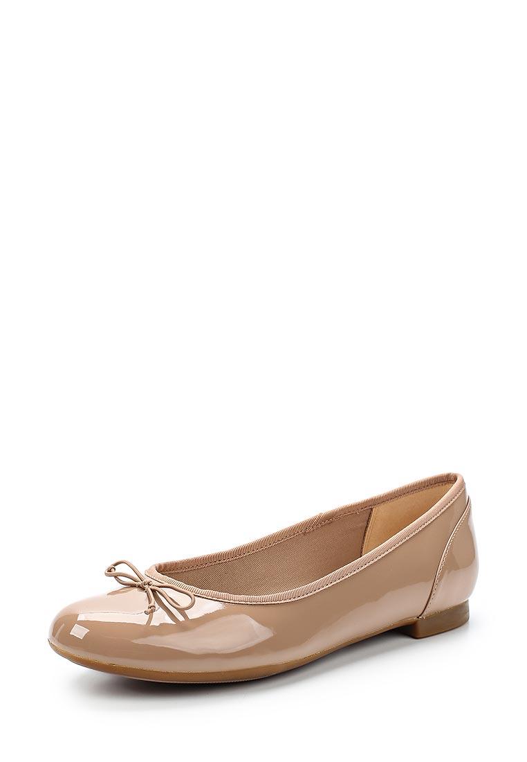Женские балетки Clarks (Кларкс) 26133992