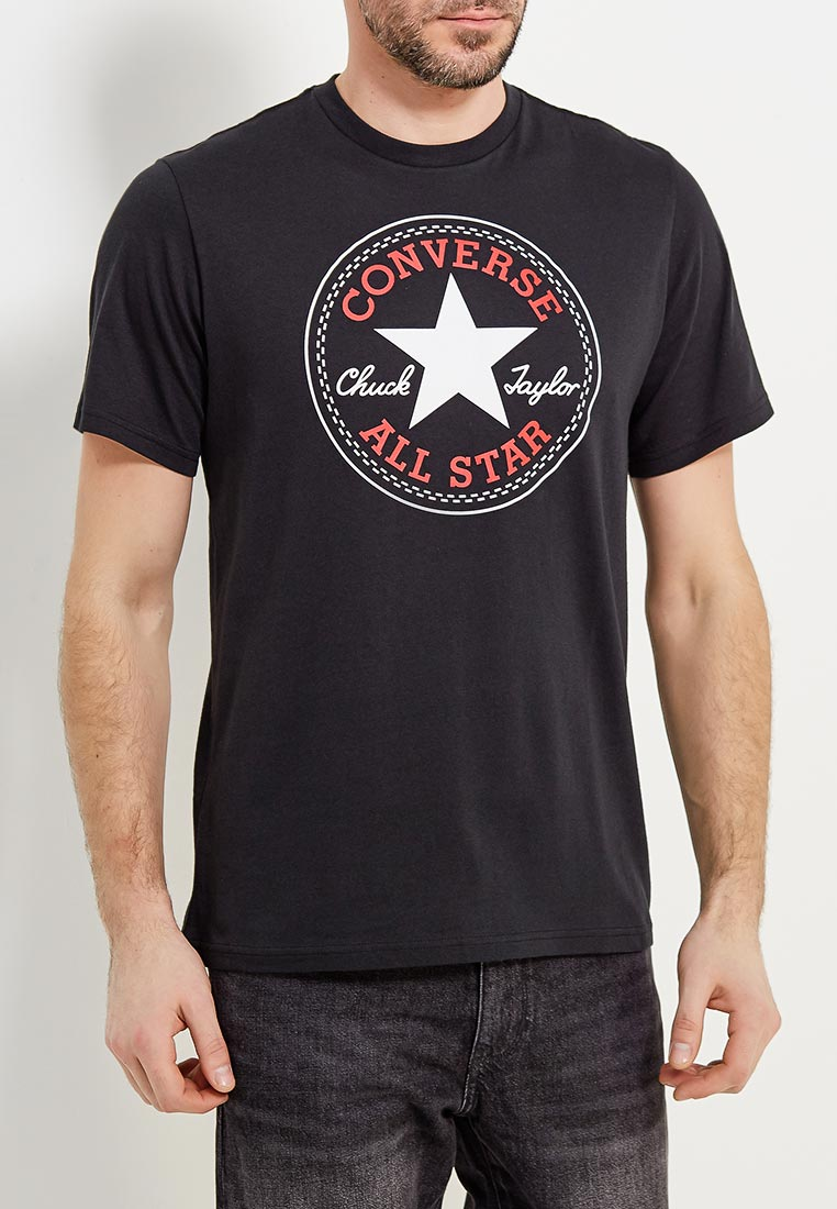 Футболка с коротким рукавом Converse (Конверс) 10005415001