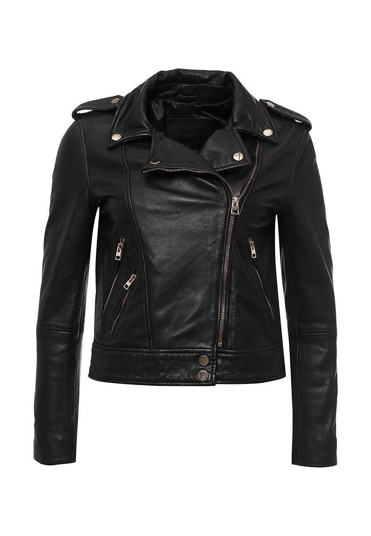 Кожаная куртка Cortefiel 7059485