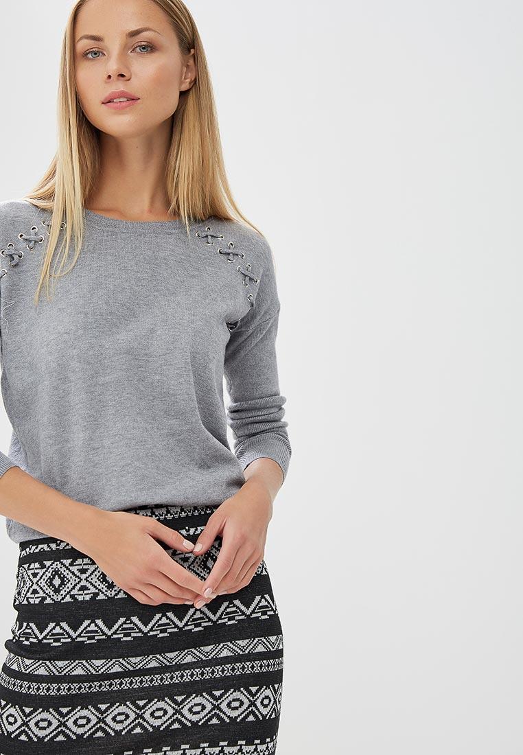 Джемпер Conso Wear KWJS180736 - grey melange
