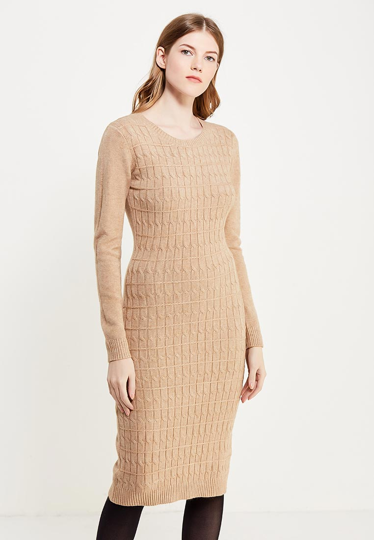 Вязаное платье Conso Wear KWDL170735 - sand