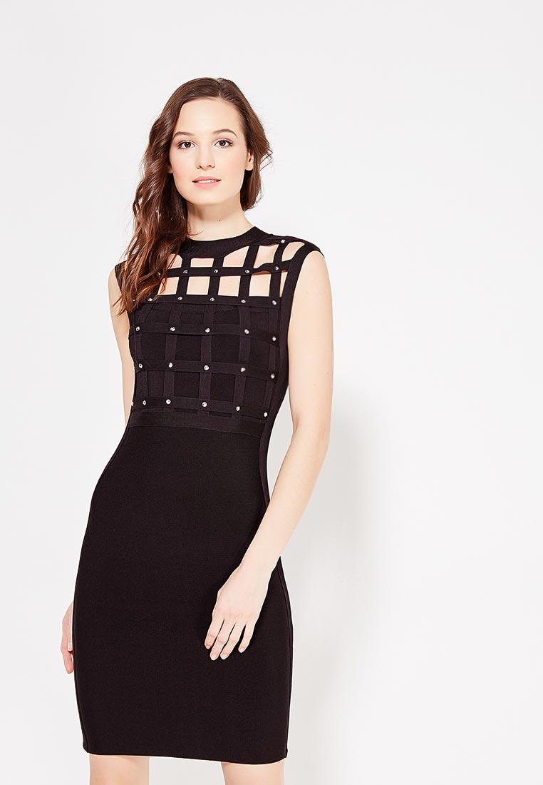 Вечернее / коктейльное платье Conso Wear KWDS170904 - black