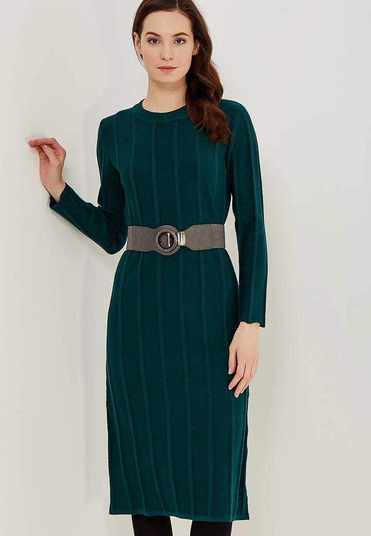 Платье Conso Wear KWDL170763 - deep green