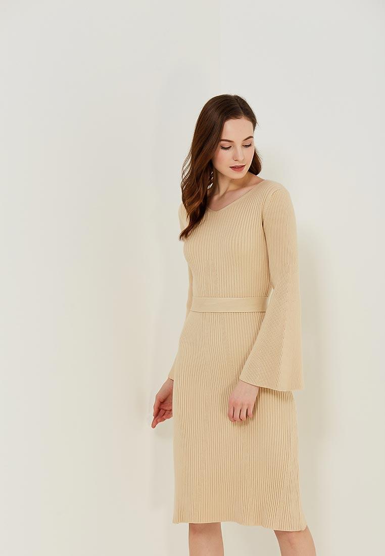 Платье Conso Wear KWDL170786 - beige