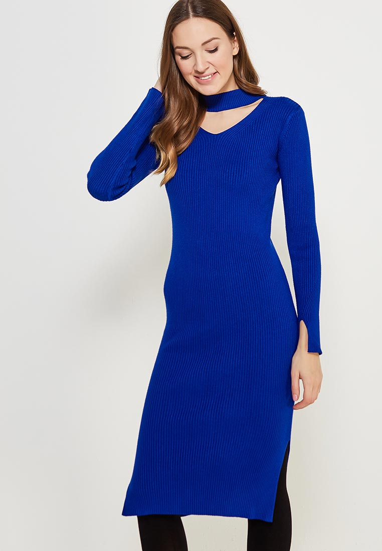 Платье Conso Wear KWDL170787 - royal blue