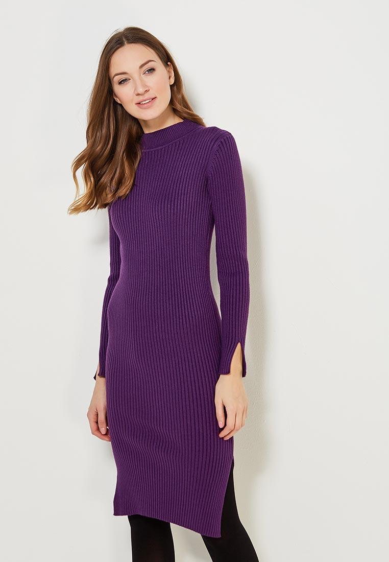 Платье Conso Wear KWDL170788 - eggplant