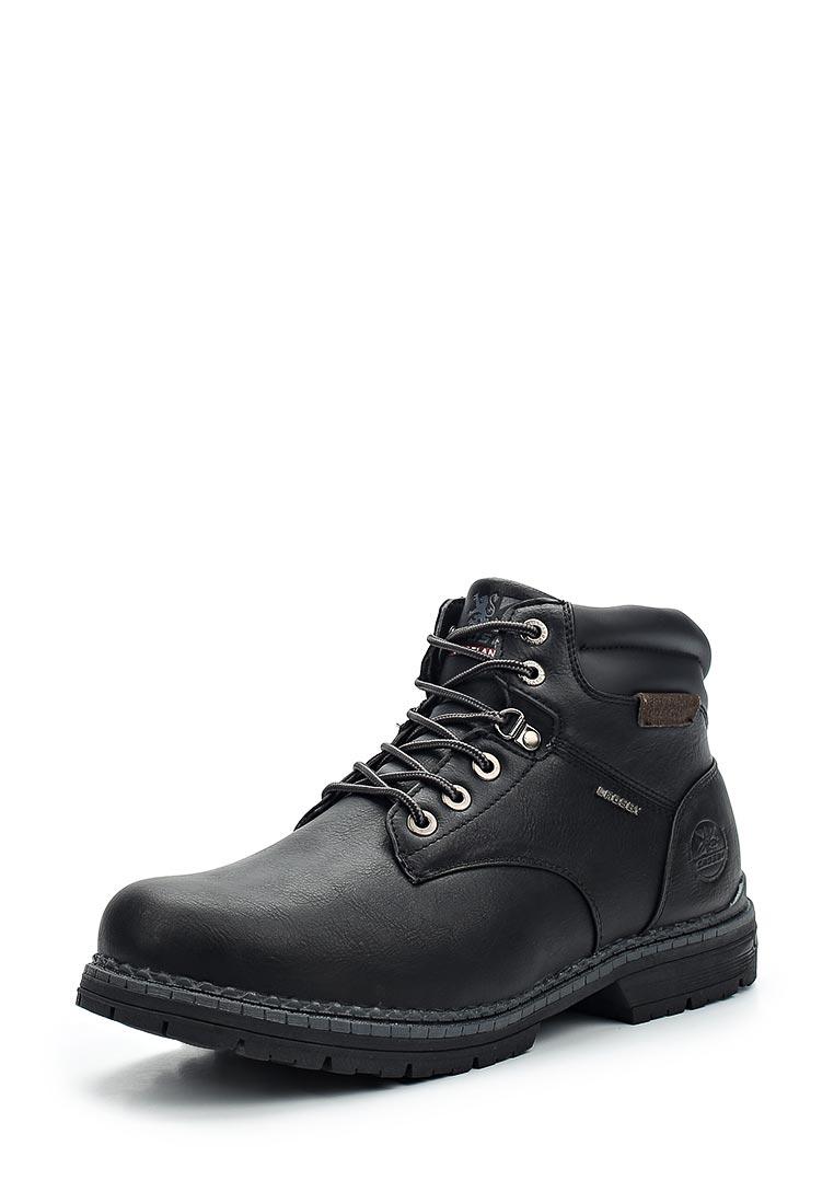Мужские ботинки CROSBY 478151/02-01