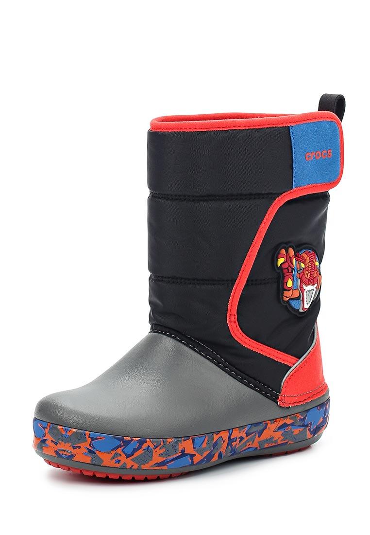 Дутики для мальчиков Crocs (Крокс) 204722-43J