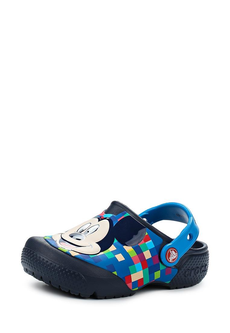 Сланцы для мальчиков Crocs (Крокс) 204708-410