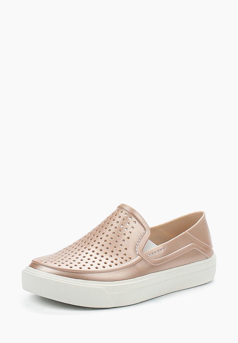 Мокасины для девочек Crocs (Крокс) 205215-6OD