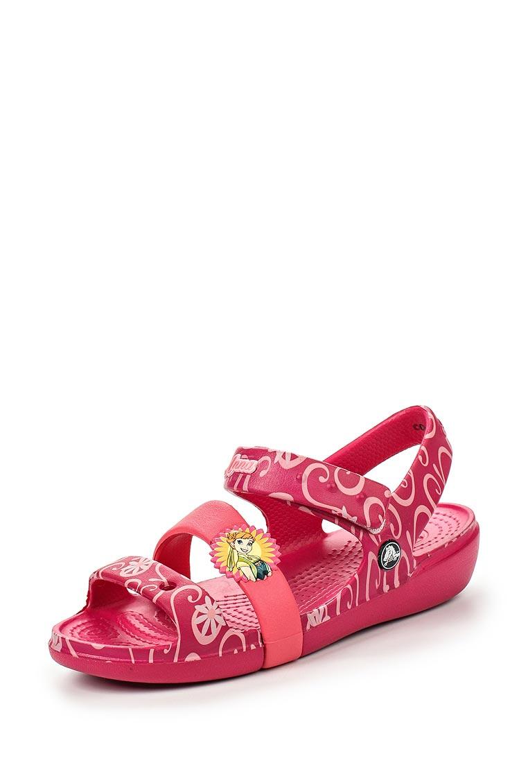 Сандалии для девочек  Crocs (Крокс) 202707-652