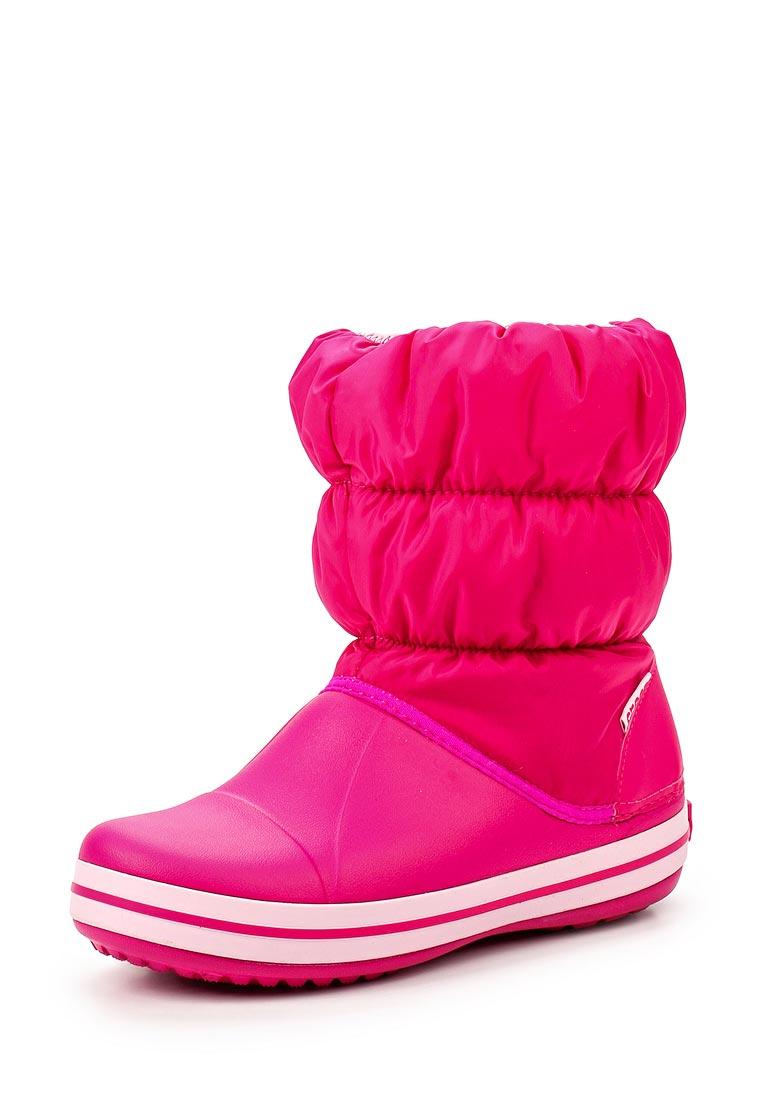 Дутики для девочек  Crocs (Крокс) 14613-6X0