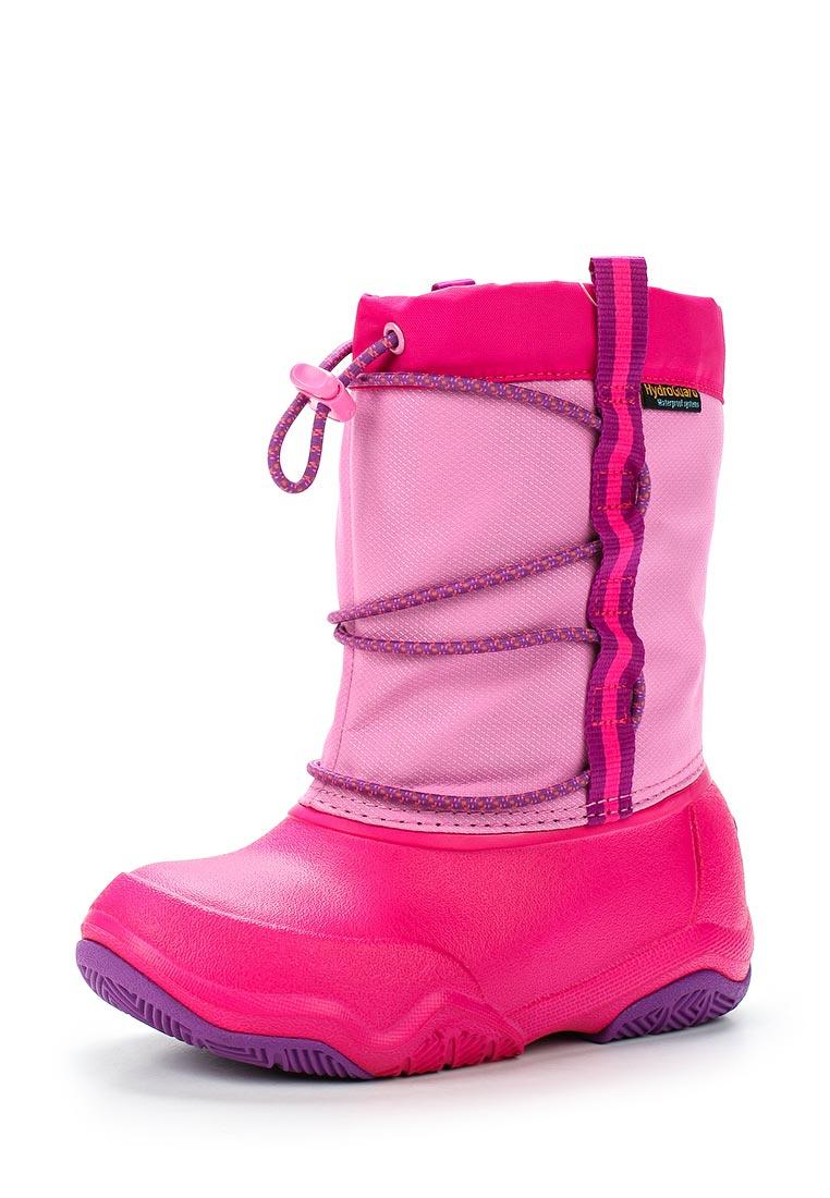 Дутики для девочек  Crocs (Крокс) 204657-6LA