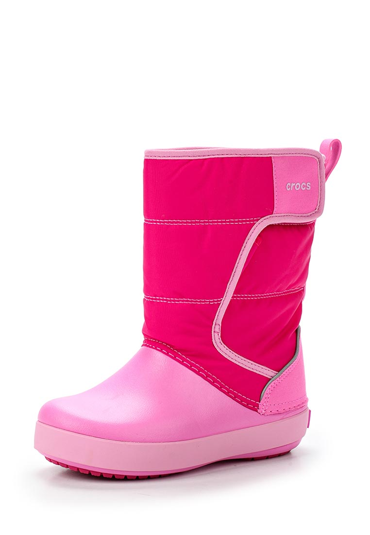 Дутики для девочек  Crocs (Крокс) 204660-6LR