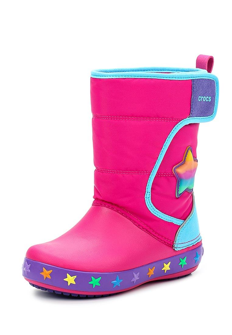 Дутики для девочек  Crocs (Крокс) 204723-911