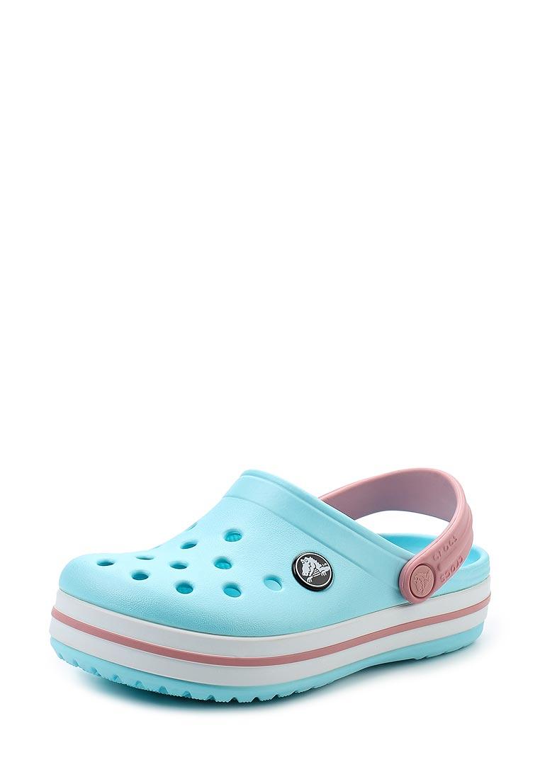 Сланцы для девочек Crocs (Крокс) 204537-4S3