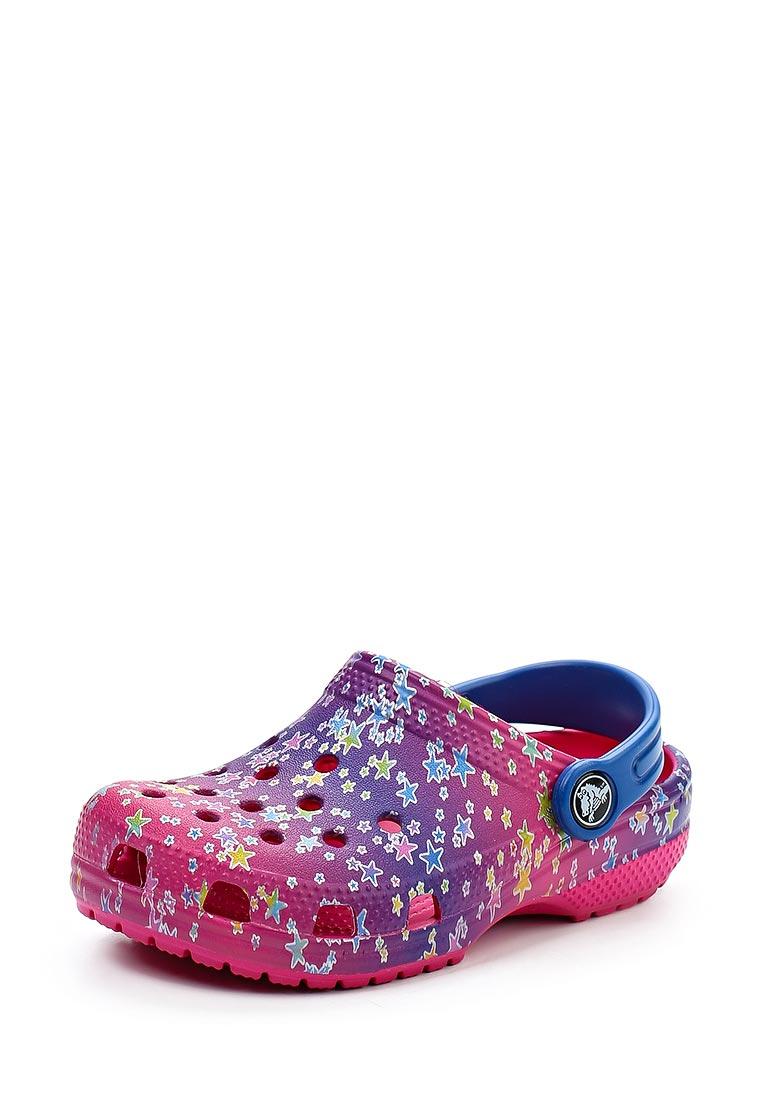 Сланцы для девочек Crocs (Крокс) 204816-911