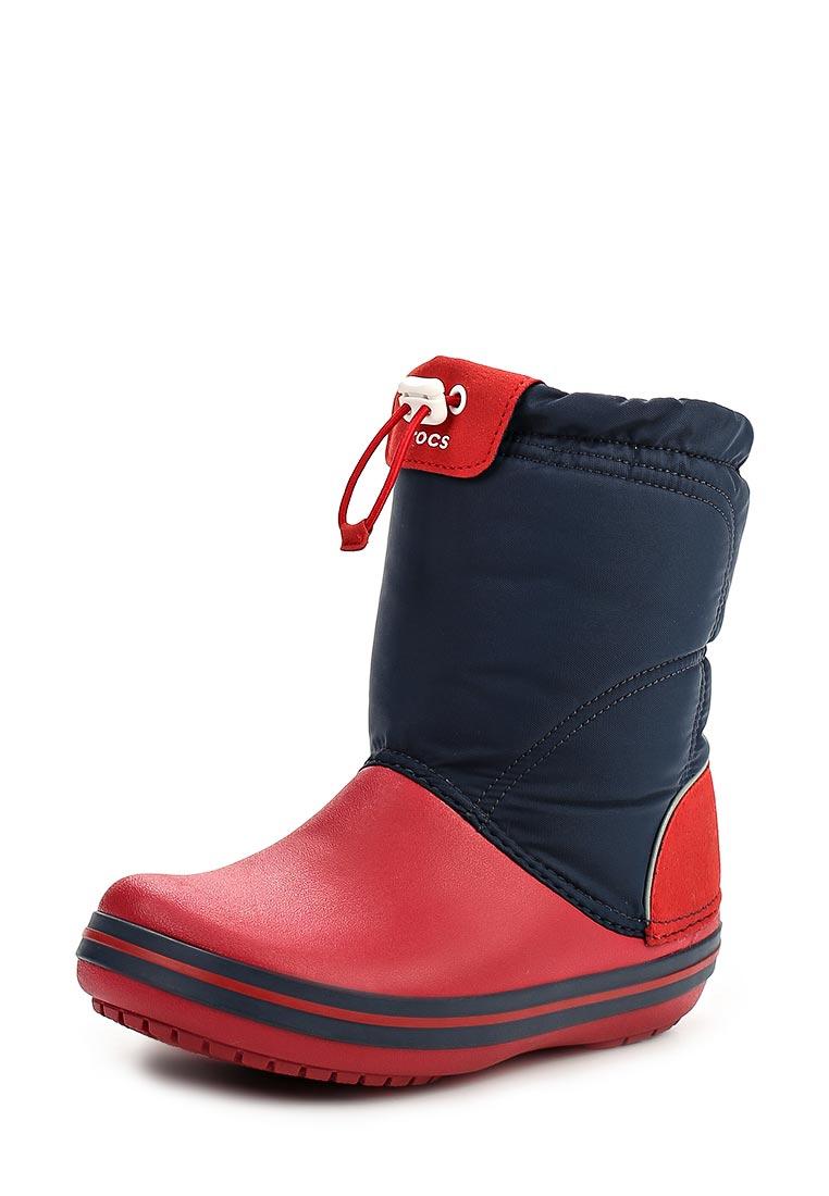 Дутики для девочек  Crocs (Крокс) 203509-485