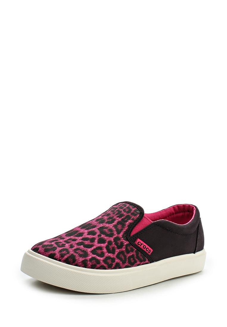 Мокасины для девочек Crocs (Крокс) 203753-90L