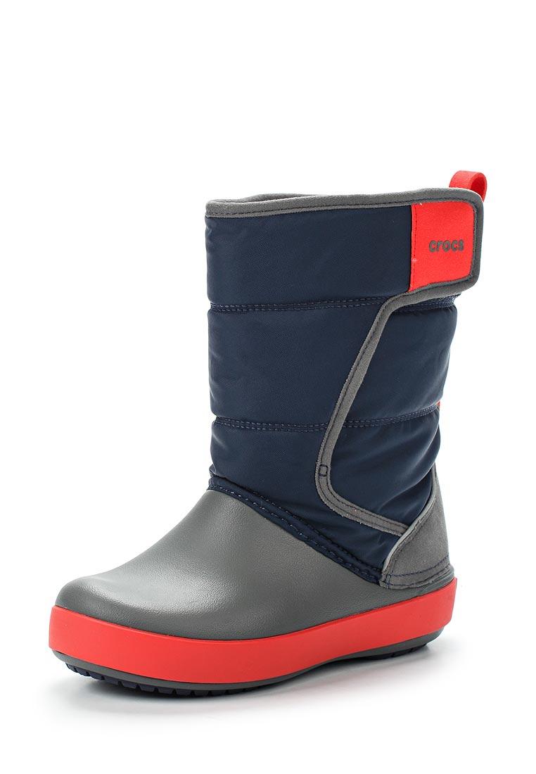 Дутики для девочек  Crocs (Крокс) 204660-4HE