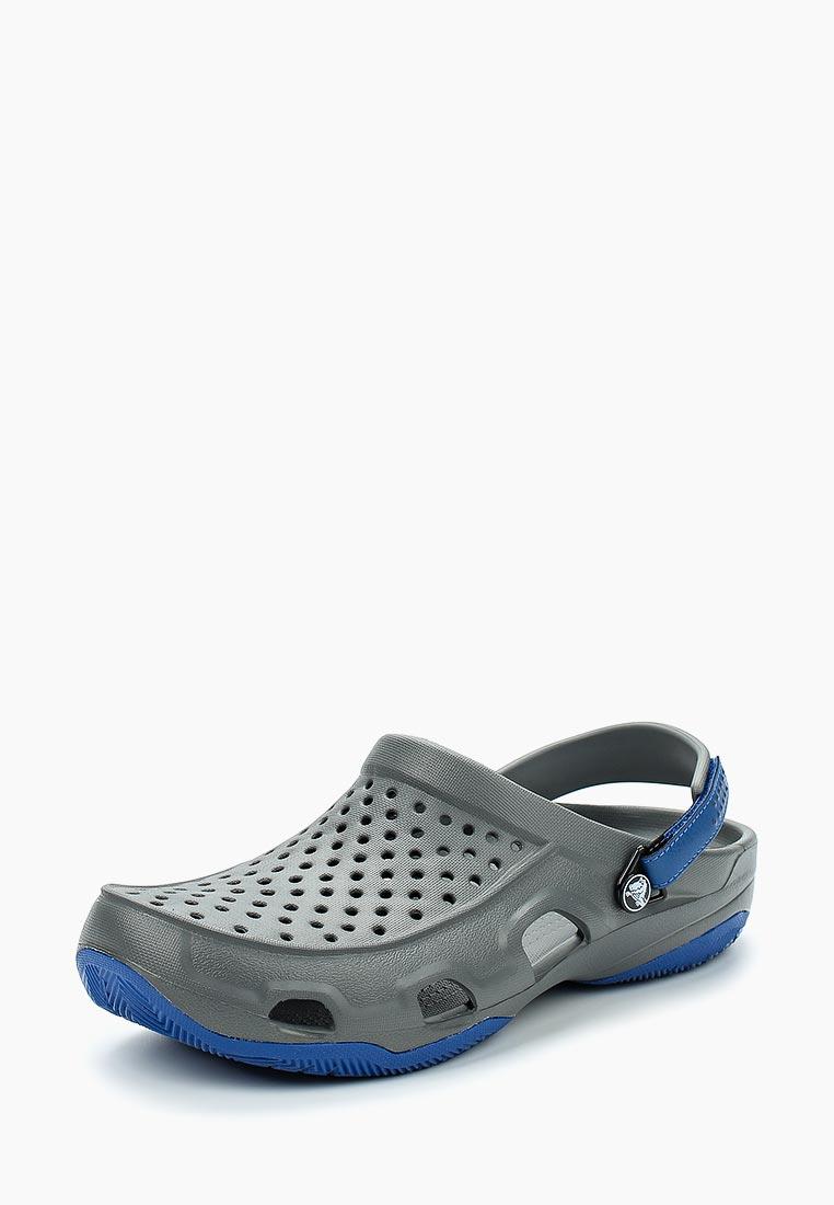 Мужская резиновая обувь Crocs (Крокс) 203981-0DA