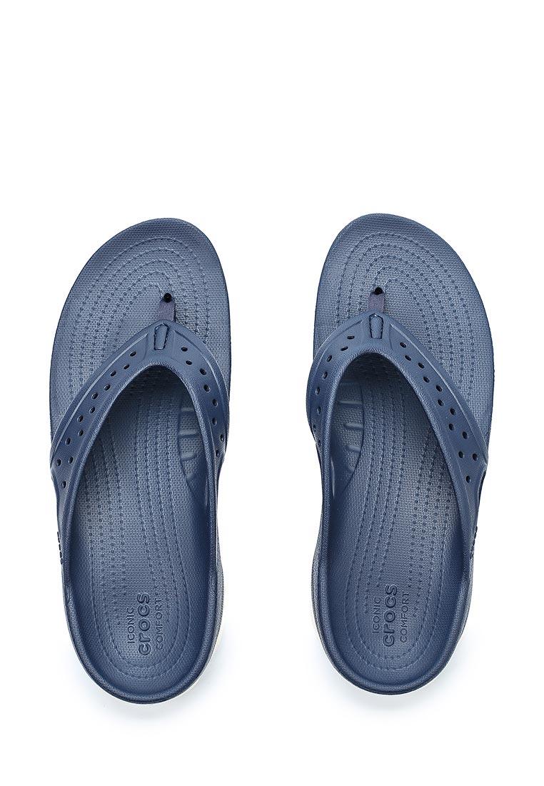 Мужские сланцы Crocs (Крокс) 204961-462