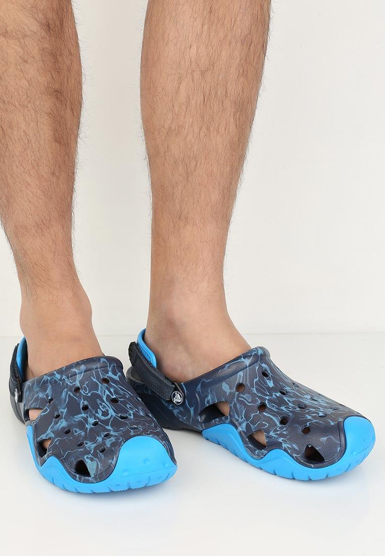 Мужские сланцы Crocs (Крокс) 204589-49T