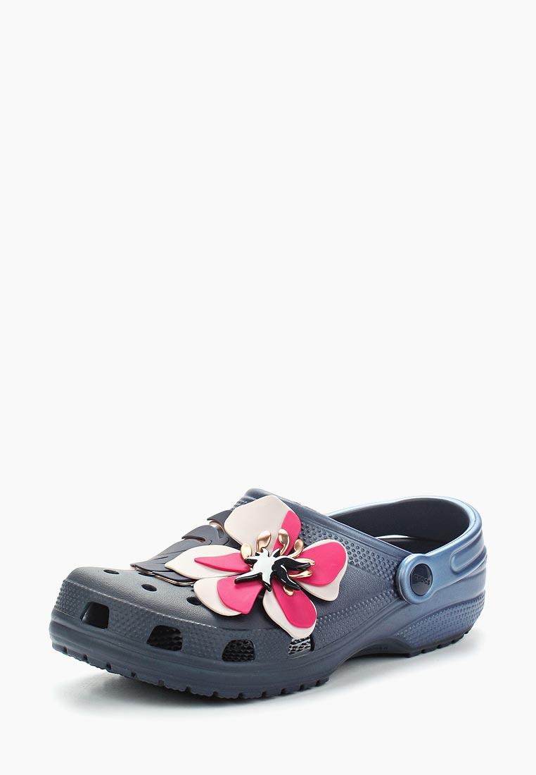 Женская резиновая обувь Crocs (Крокс) 205248-410