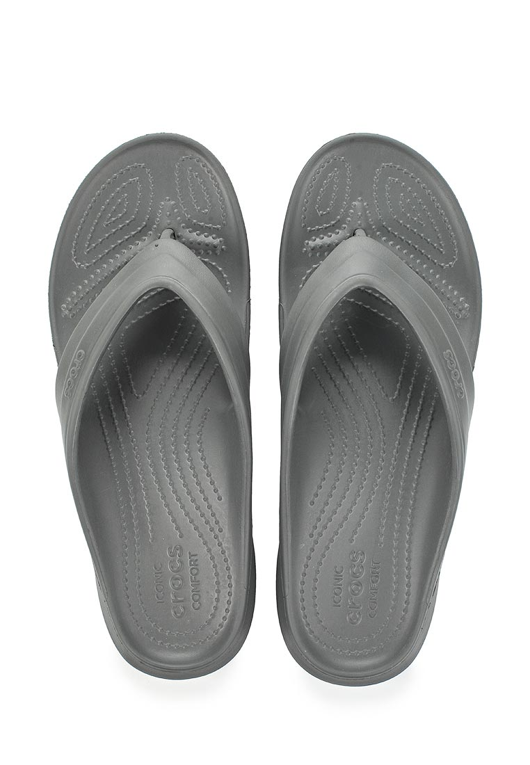 Мужские сланцы Crocs (Крокс) 202635-0DA