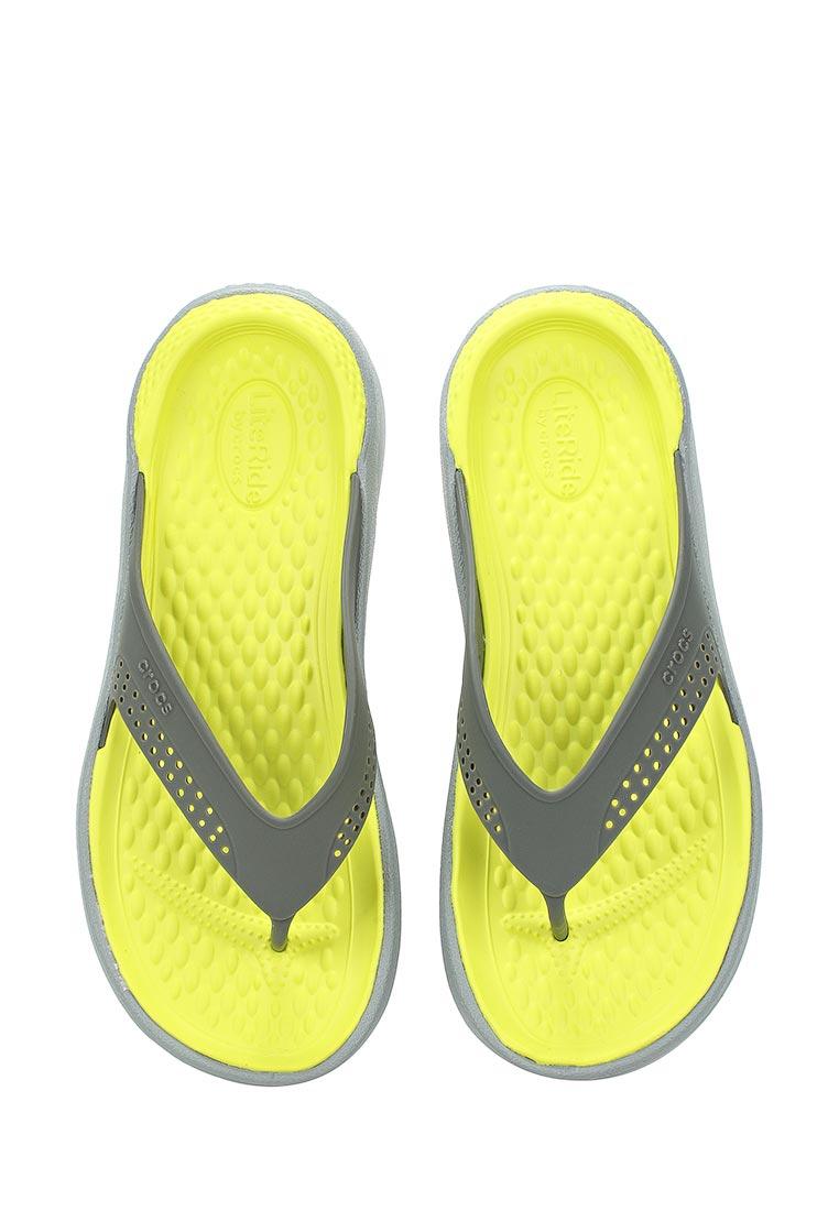 Мужские сланцы Crocs (Крокс) 205182-0DV