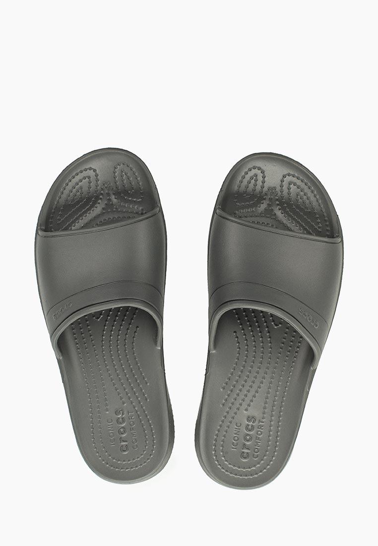 Мужские сланцы Crocs (Крокс) 204067-0DA