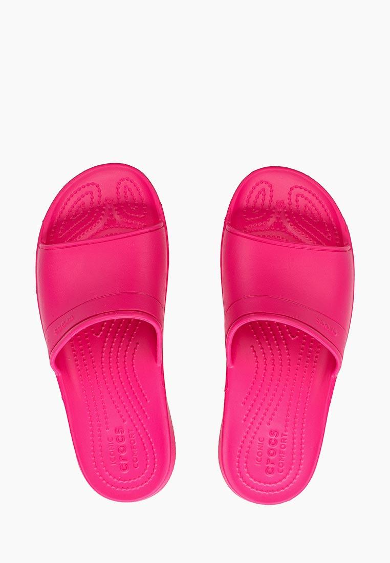 Женские сланцы Crocs (Крокс) 204067-6X0