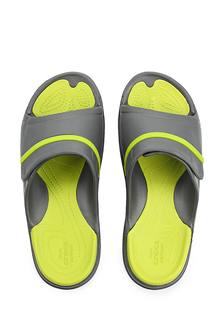 Мужские сланцы Crocs (Крокс) 204144-0A1